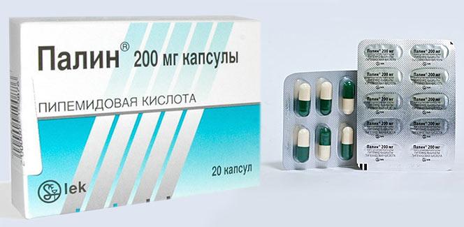 таблетки от цистита Палин